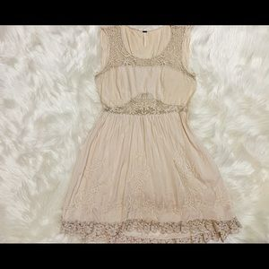 SALE FREE PEOPLE IVORY DRESS SIZE 4